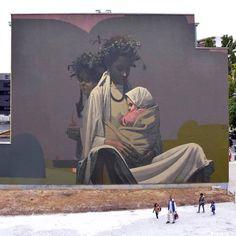 """Etam Cru (SAINER), """"Mother"""" Brussles, Belgium -"""