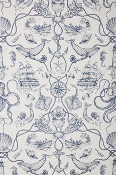 Some of the common kinds of wallpaper at this time is nautical wallpaper. When many individuals cons. Nautical Wallpaper, Toile Wallpaper, Waves Wallpaper, Striped Wallpaper, Print Wallpaper, Pattern Wallpaper, Temporary Wallpaper, Summer Wallpaper, Bathroom Wallpaper