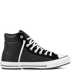 fefd037f9d Chuck Taylor All Star Boot PC Leather + Suede Black Black White black
