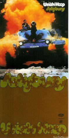 Uriah Heep The Magician S Birthday Mercury Gatefold