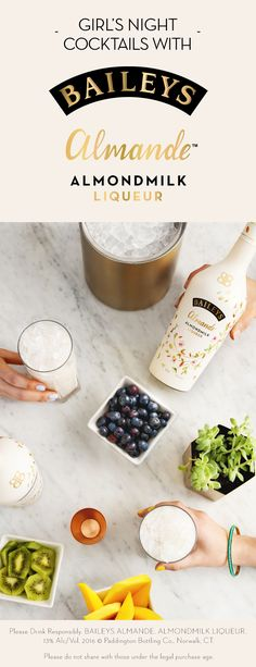 Discover the premium quality of Baileys Original Irish Cream. Learn more about our history, find delicious drink recipes and explore the many tempting flavors. Summer Drinks, Fun Drinks, Beverages, Dairy Free Recipes, Gluten Free, Baileys Cocktails, Baileys Original Irish Cream, Christmas Drinks Alcohol, Raspberry Punch