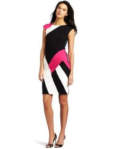 Get the Maggy London Women's Cap Sleeve Ponte Dress! [Click Image]