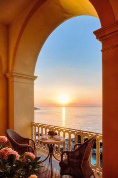 Sunset Sorrento #Italy