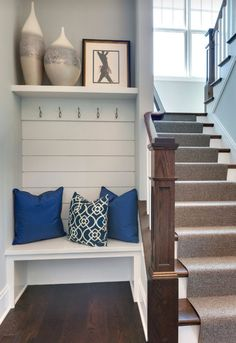 Image result for small built in entry bench