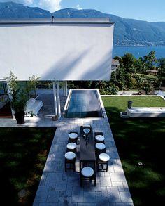 Villa overlooking the Swiss Alps and Lake Maggiore, Stefano Foni Gueli and Fausto