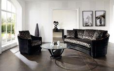 rundes sofa schönes design bodenfliesen wohnzimmer
