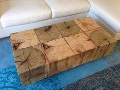 chunky coffee table