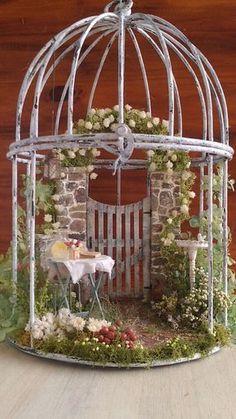50 beautiful diy fairy garden design ideas (18) #miniaturegardens