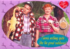 I Love Lucy Episode- the camping trip