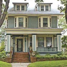 Paint Color Ideas For Ornate Victorian Houses Pinterest