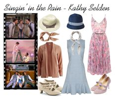 """""""Singin' in the Rain - Kathy Selden"""" by beetlescarab ❤ liked on Polyvore"""