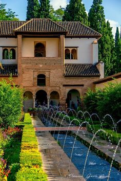 Andalusia, Granada, Spain, Mansions, House Styles, Home Decor, Decoration Home, Grenada, Manor Houses