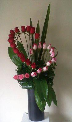 Blumenarrangement Herz