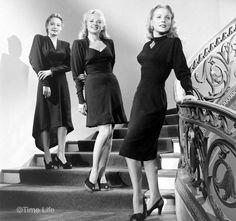 1940s-Fashion---Dipping-Hemlines-1946