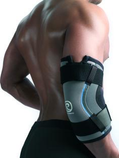 De Rehband elleboogbrace 7791 is de perfecte oplossing voor krachtsporters die hun elleboog tijdens training en wedstrijden willen beschermen tegen overbelasting.