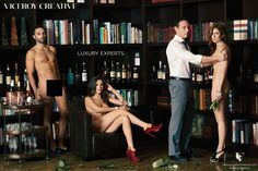 Why These Agency Execs Went Through Hell to Get Naked in These Ads (SFW) | Adweek