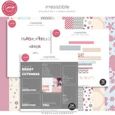 Irresistible | collection 1 - digital kit