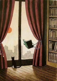 Buscar en la lectura lo que te haga feliz