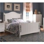 Broyhill - Hayden Place White Panel Bed - 4649   SPECIAL PRICE: $674.00