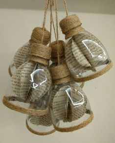 Diy bottle crafts - How to make decorative hanging from bottle Diy Crafts How To Make, Diy Home Crafts, Diy Arts And Crafts, Craft Stick Crafts, Creative Crafts, Decor Crafts, Craft Ideas, Easy Crafts, Reuse Plastic Bottles