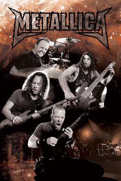 metallica artwork   Metallica posters - Metallica Live poster LP1196 / PP30482 - Panic ...