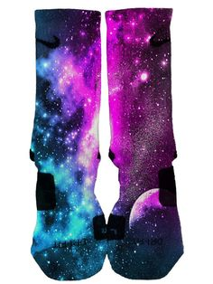 Hey, I found this really awesome Etsy listing at https://www.etsy.com/listing/207776966/nike-elite-custom-galaxy-socks-fast-and