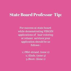 State Board Exam How to Pass Cosmetology Board Exam Cosmetology Practice Exam, Cosmetology State Board Exam, Cosmetology Student, Makeup Artist Tips, Makeup Tips, Home Nail Salon, Barber School, Hairstylist Quotes, School Nails