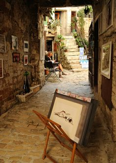 Art Alley, Rovinj, Croatia