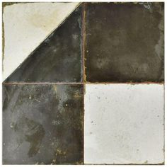 Merola Tile Kings Geos 17-3/4 in. x 17-3/4 in. Ceramic Floor and Wall Tile (11.3 sq. ft. / case), Multi/Low Sheen