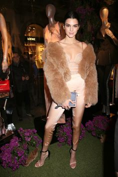 Kendall Jenner at La Perla - MFW Fall 2017: The Can't-Miss Celeb Looks from the FROW - Photos