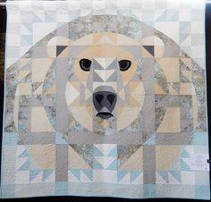 Janet Fogg - bear block made with bear paws blocks