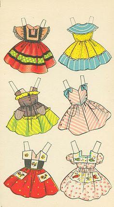 Quiero Ver mi Comedor? Cuardero de Recortables No.3 [Wanna See My Dining Room? Paper Doll from Spain], 1962: page 5 (of 5)