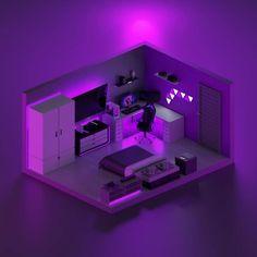 Gamer Bedroom, Bedroom Setup, Room Ideas Bedroom, Computer Gaming Room, Gaming Room Setup, Pc Setup, Small Game Rooms, Cool Room Designs, Home Music