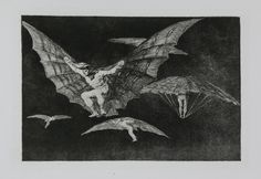 Los Disparates (The Follies ), also known asProverbios (Proverbs ) orSueños (Dreams ) is a series of 22 prints in aquatint and etching, with retouching in drypoint and burin, that Francisco Goya produced between 1815 and Francisco Goya, Rembrandt, As Flores Do Mal, Art Gallery, Chef D Oeuvre, Art Institute Of Chicago, Art Graphique, Illustrations, British Museum