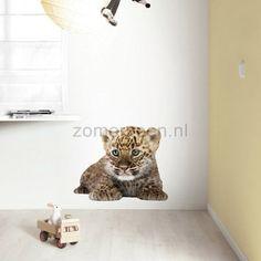muursticker KEK Safari Friends Leopard Cub