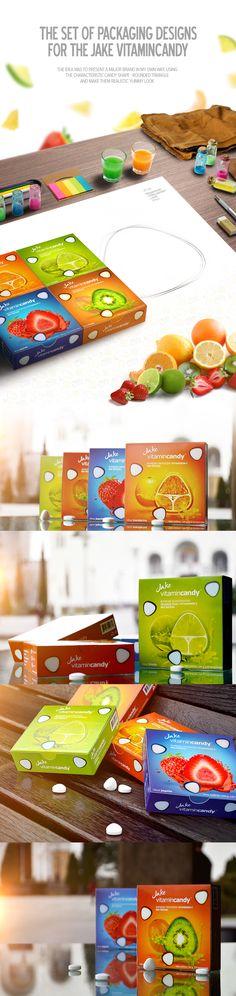 Jake vitamincandy - Packaging Design on Behance