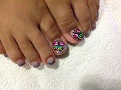 Uñas Toe Nail Designs, Toe Nails, Erika, Nail Art, Finger Nails, Vestidos, Simple Toe Nails, Pedicures, Feet Nails