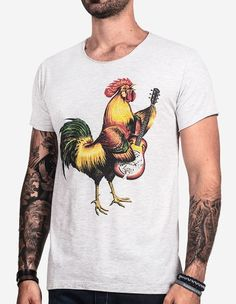 T-SHIRT FOLK ROOSTER 0228 - Hermoso Compadre