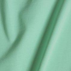 Økologisk bomuldsjersey, stretch - Mint