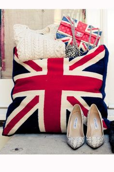 Sweaters Chanel and union jacks....this is seriously the best assortment of things I have ever seen ever