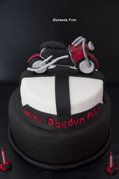 Glutenfree Motorcycle Cake