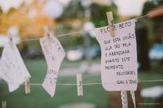 Casamento ao ar livre com muitos encantos