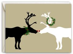 """""""Goodwill to All"""" Holiday Cards – The Fuller Collection Merry Christmas To All, Magical Christmas, Christmas Deer, Little Christmas, Christmas Stockings, All Holidays, Christmas Holidays, Xmas, Holiday Cards"""