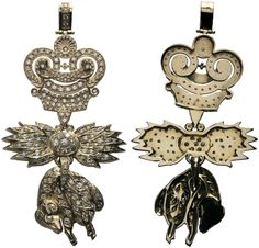 Order of the Golden Fleece (Austrian) - Diamond Badge (copy, ca. 1960's)