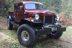 Legacy Classic Trucks Dodge Power Wagon Defines Custom Off-Road Badassery — Automobile - Dodge Power Wagon, Old Pickup Trucks, Lifted Trucks, Dually Trucks, Jeep Pickup, Lifted Dodge, Old Dodge Trucks, Pickup Camper, Classic Chevy Trucks