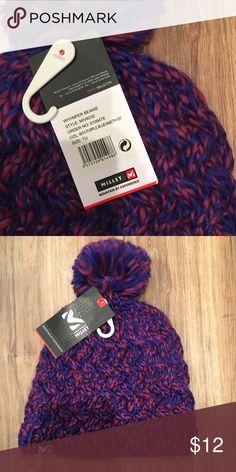 86ed9e35a2b Millet Purple Hat Millet purple women s Pom hat Millet Accessories Hats
