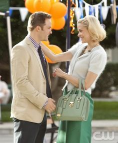 """Aliens and Aliases"" - Pictured (L-R): Scott Porter as George Tucker and Jaime King as Lemon in HART OF DIXIE on THE CW. Photo: Michael Desmond/The CW ©2011 The CW Network. All Rights Reserved."