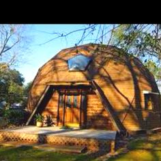 A dome home. I just heard on TV a dome home featured there went up mostly in 6 months and walls are 15 feet thick so low low heat.