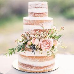 """Hello heaven! Soft layers of sponge with irresistible buttercream! I rarely eat sugar, however my wedding night will be a big exception! {image credits…"""