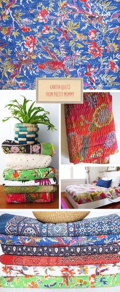 Loving... Kantha Quilts | Fellow Fellow